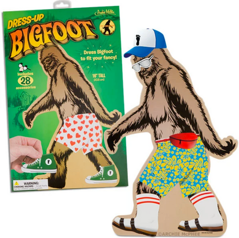 Dress-Up Bigfoot - Corvus: Clothing and Curiosities