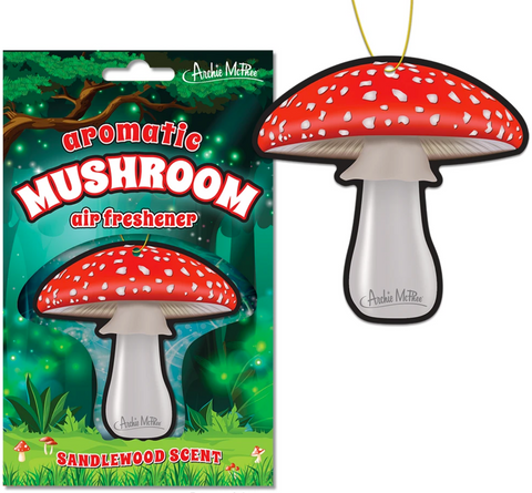 Aromatic Mushroom Air Freshener - Corvus: Clothing and Curiosities