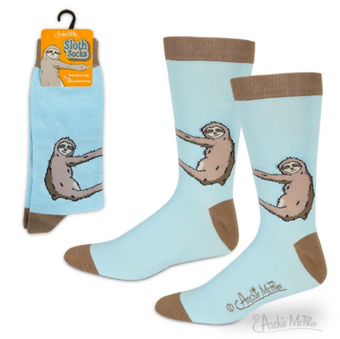Sloth Socks - Corvus: Clothing and Curiosities