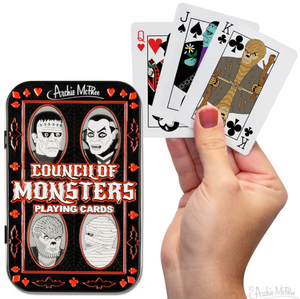 Council of Monsters Playing Cards - Corvus: Clothing and Curiosities