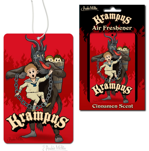 Krampus Air Freshener - Corvus: Clothing and Curiosities