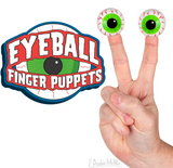 0 Eyeball Finger Puppets - Corvus: Clothing and Curiosities