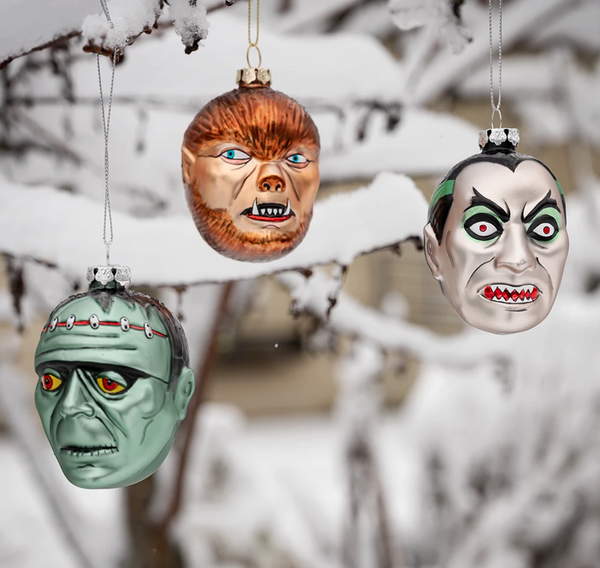 Council Of Monsters - Ornament Set of 3