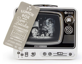 Retro TV Lunchbox - Corvus: Clothing and Curiosities
