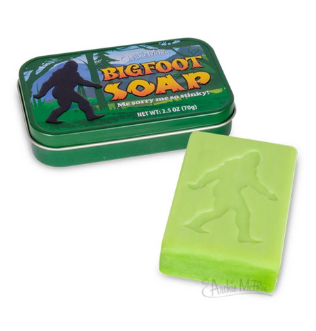 Bigfoot Soap - Corvus: Clothing and Curiosities