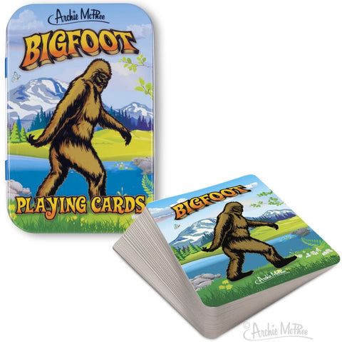 Bigfoot Playing Cards - Corvus: Clothing and Curiosities