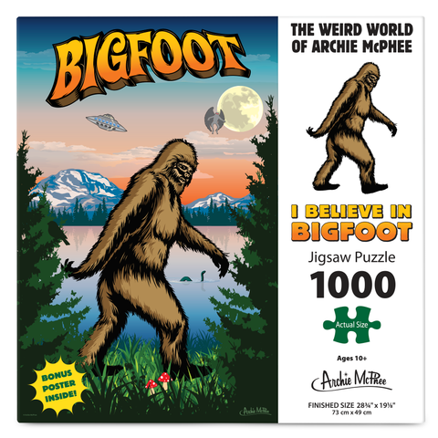 Bigfoot Puzzle  - I BELIEVE