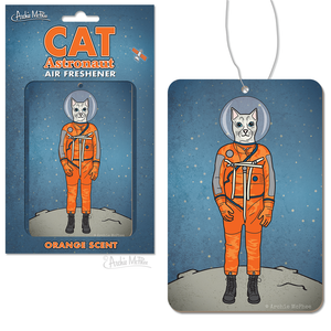 Cat Astronaut Air Freshener