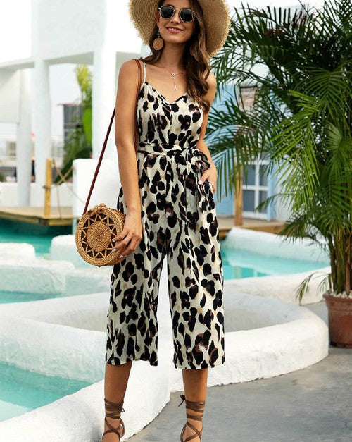 Leopard Romper - Corvus: Clothing and Curiosities