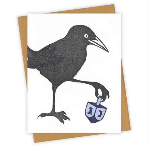 Dreidel Grackle Card