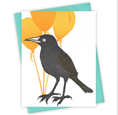 Bunch of Balloons Grackle Card