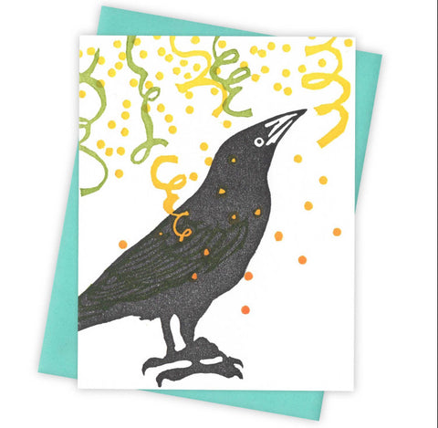 Confetti Grackle Card