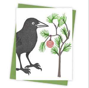 Little Tree Grackle Card
