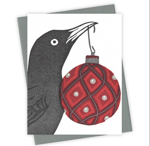 Trim the Tree Grackle Card