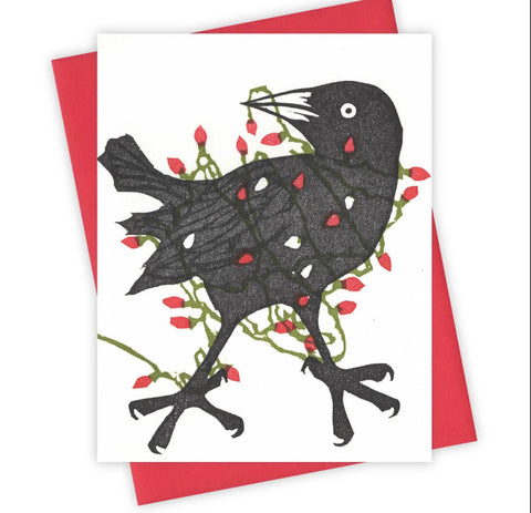 Tangled Grackle Card