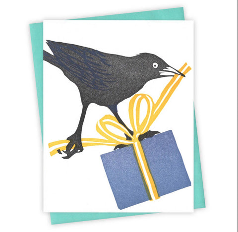 Wrap It Up Grackle Card