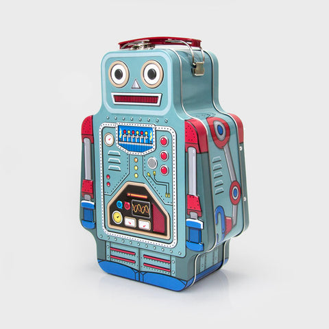 Lunch Bot -  The Robot Lunchbox - Corvus: Clothing and Curiosities