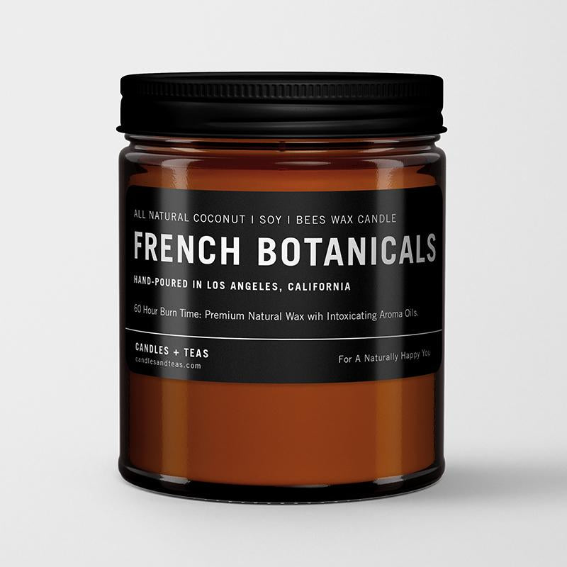 French Botanicals in Coconut Soy Wax Candle