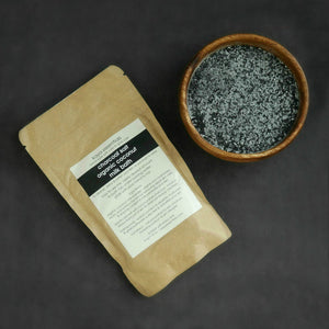 Charcoal Salt & Organic Coconut Milk Bath