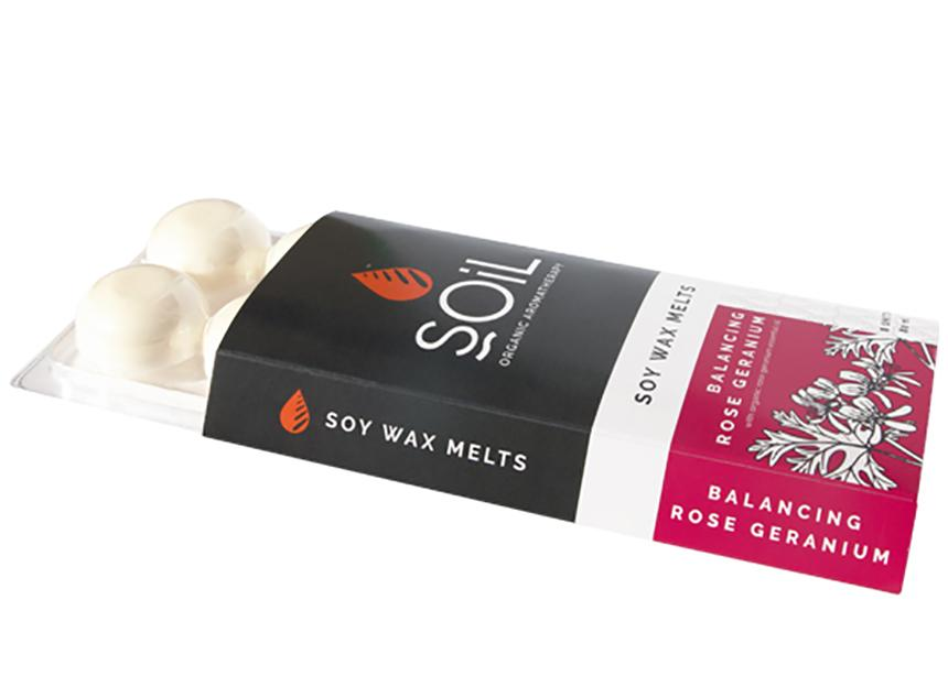 Rose Geranium Soy Wax Melts