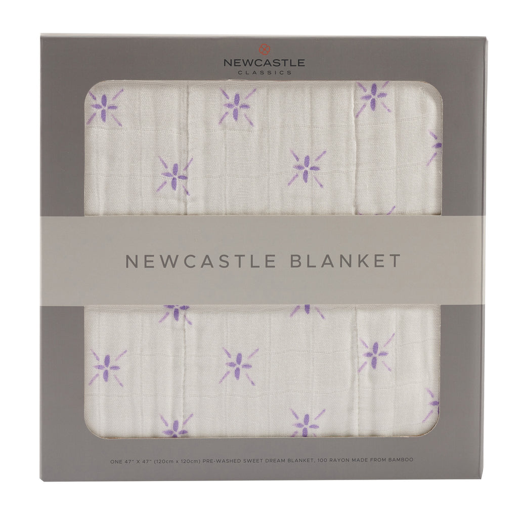Watercolor Star & White Newcastle Blanket