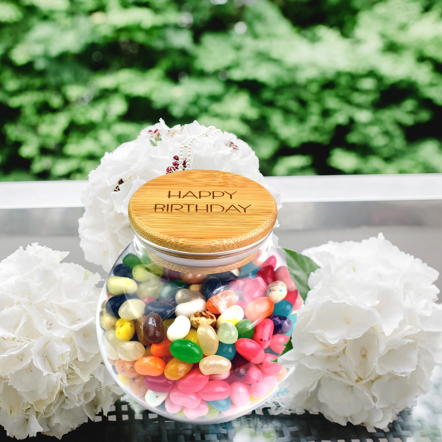 Be Fearless Bamboo Lid Gift Jar