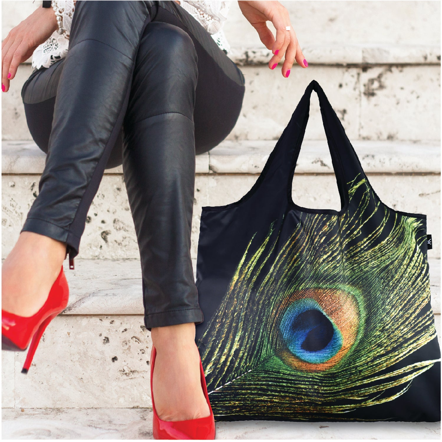 Peacock Reusable YaYbag