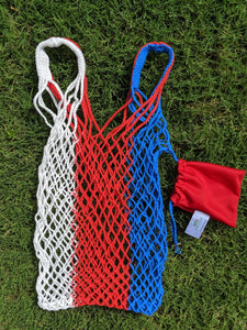 Red White & Blue Reusable Bag