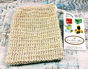 Exfoliating Sisal Soap Saver Sack