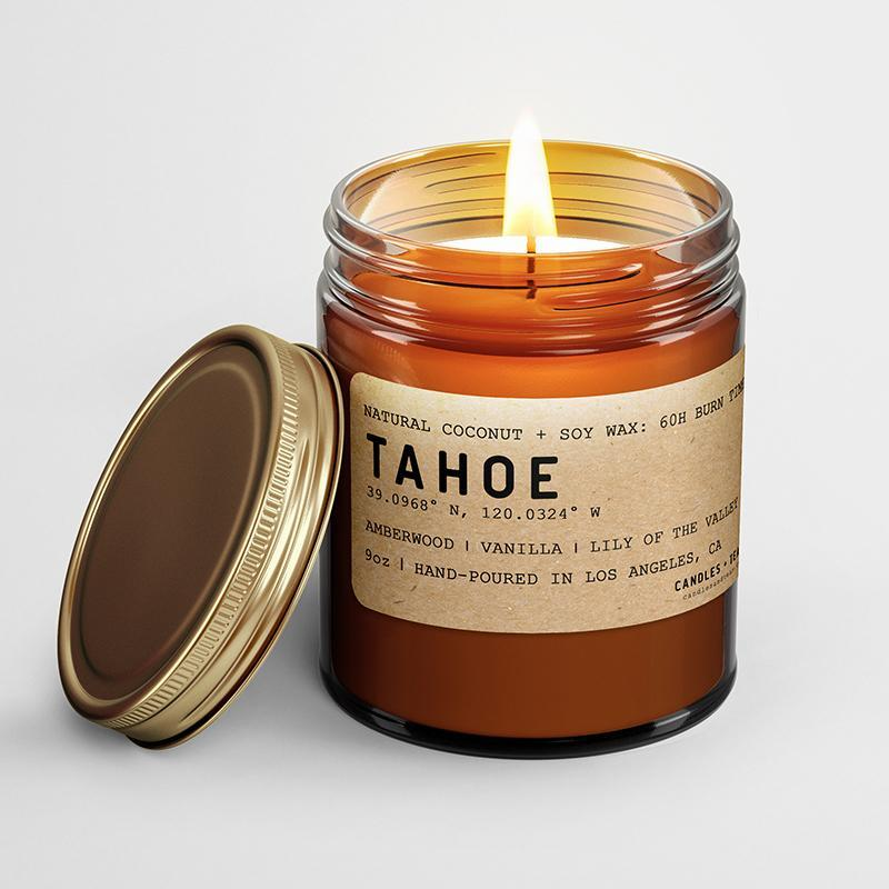 Lake Tahoe California Soy Candle