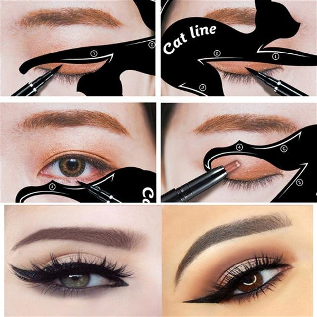 Cat Line Eyeliner Application Tool