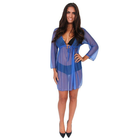 Women's Mesh Beach Dress Cover Up Swimwear Made in the USA