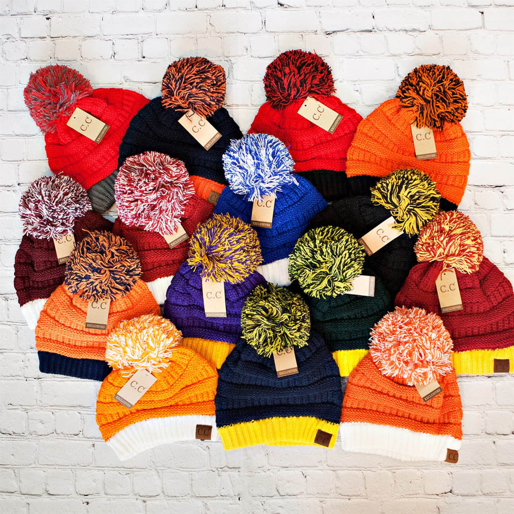 C.C. Game Color Beanies