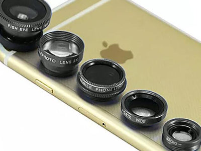 Clip and Snap Camera Lens for Smartphones