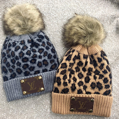 Re-purposed Lv Patch Beanie
