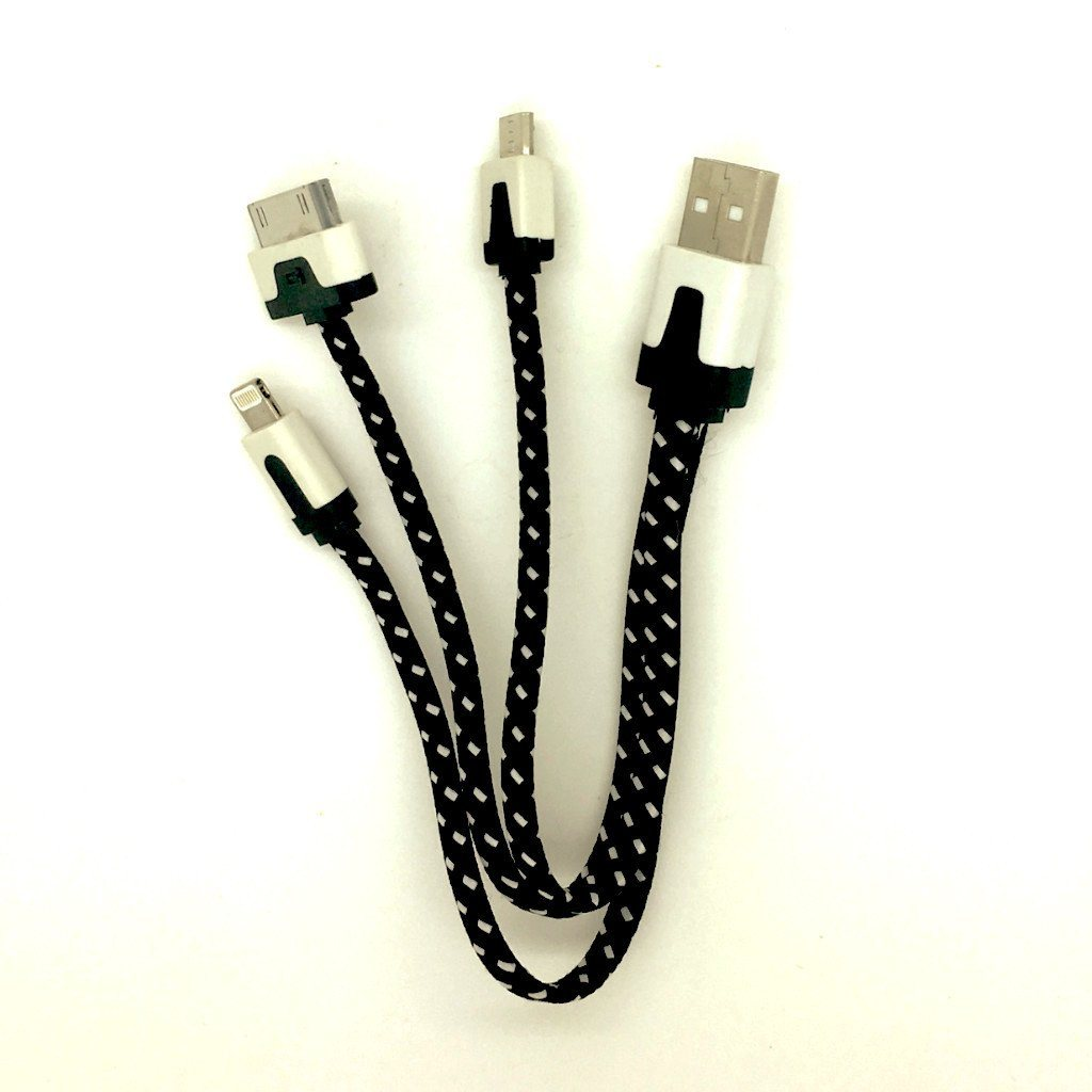 Multi-tip USB Charging Cable