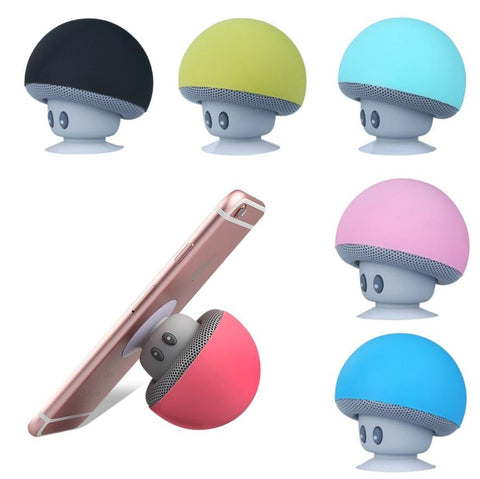 Mini Mushroom Bluetooth Speaker Stand