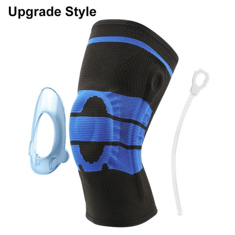 Non-slip Joint Support Knee Pads Protective Sports Kneepads Breathable 1/2 pcs Power Lift Powerful Rebound Force Knee Booster