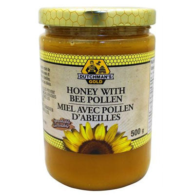Honey with Bee Pollen
