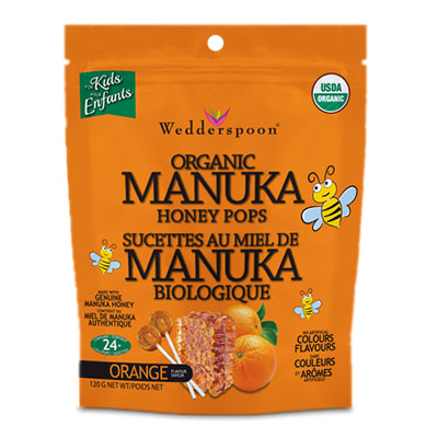 Wedderspoon Raw Manuka Honey