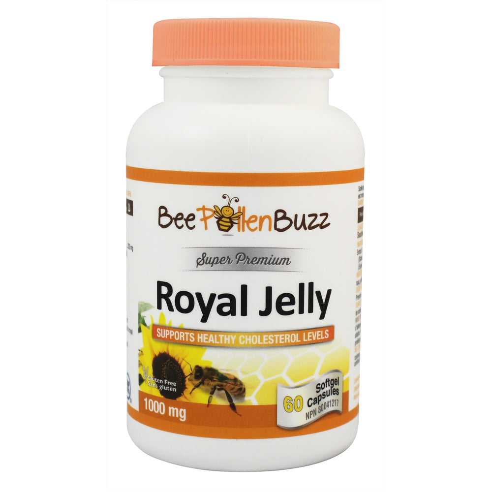 Bee Buzz Premium Royal Jelly 1000 mg 60 soft gels