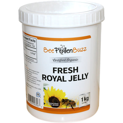 Bee Buzz Organic Fresh Royal Jelly 1 kg (2.2 lbs)