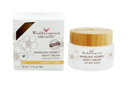 Wedderspoon Organic Manuka and Bee Venom Night Cream
