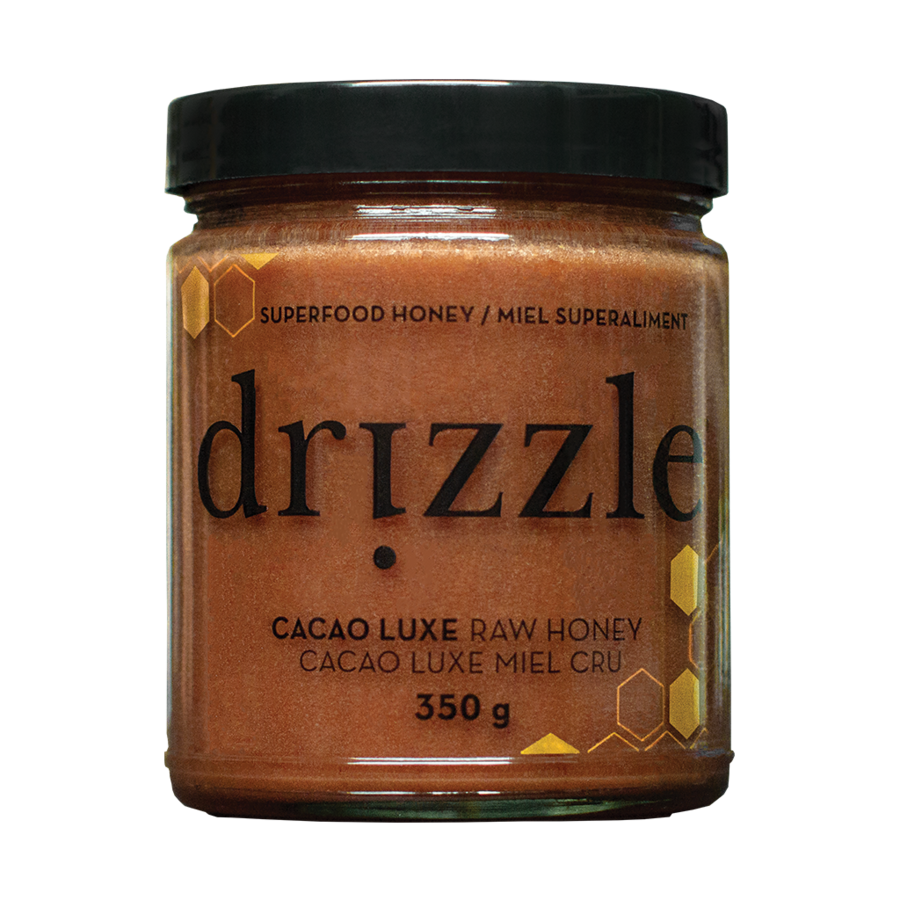 Drizzle Cacao Luxe Gold Raw Honey 350 g