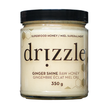 Drizzle Ginger Shine Raw Honey 350 g