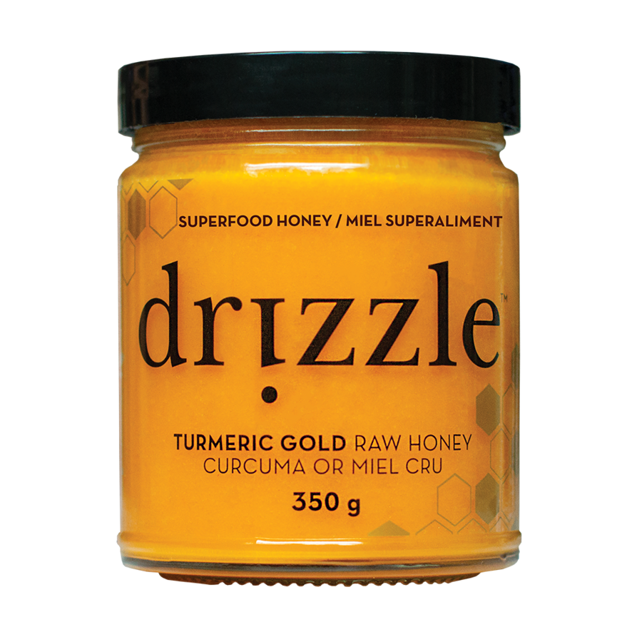 Drizzle Turmeric Gold Raw Honey 350 g