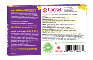 Honibe Honey & Elderberry Lozenges