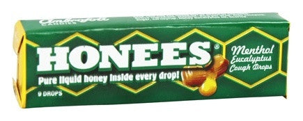 Honees Honey Lozenges - Menthol Eucalyptus