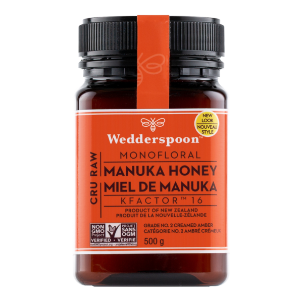 Wedderspoon 500 g KF16 Raw Manuka Honey  (1.1 lb)