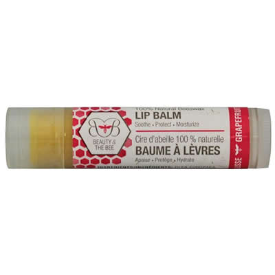 Beauty & the Bee Lip Balm - Grapefruit